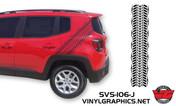 Jeep Renegade Tire Track Graphic