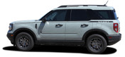 RIDER : Ford Bronco Side Body Door Stripes Vinyl Graphics Decals Kit for 2021 2022 2023 (M-PDS-7618)