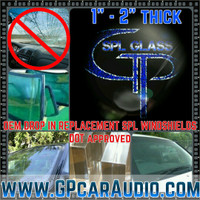 "*SALE* GP SPL GLASS 2"" OEM Replacment Windshield"