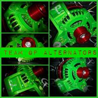CHEVROLET IMPALA 2014- 320 AMP HAIRPIN TEAM GP High Output Alternator