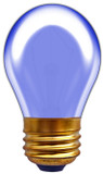 Incandescent S14 11W Blue