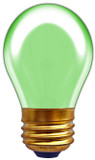 Incandescent S14 11W Green
