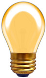 Incandescent S14 11W Orange