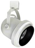 Line Voltage Classic Roundback with Black Baffle 50W R20 / PAR20 White