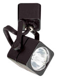 Low Voltage Miniature Spot Light Track-22 MR11 Soft Square Black