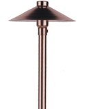"20W H, COPPER CHINA HAT 6.5"", BRS ADJ HUB, 18"" STEM, DECK MT"
