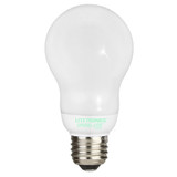 Spiral-Lite Covered CFL A19 MED White 2700K 14-Watt