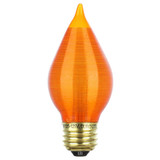 Duro-Lite Incandescent C15 MED Amber Flame 25-Watt