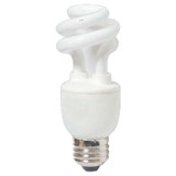 Compact Fluorescent Mini Spiral 15W E26 6500K