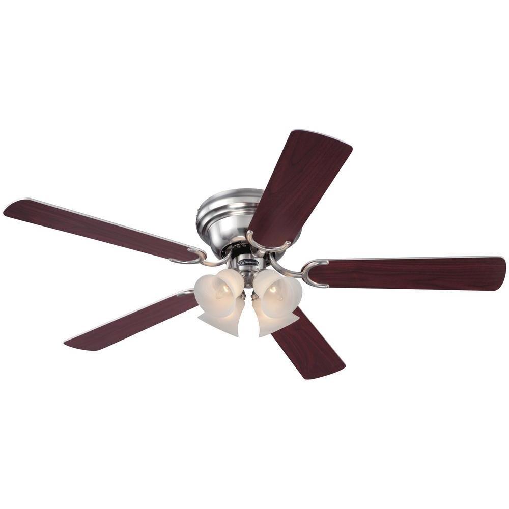 Westinghouse Contempra V 52 Inch Five Blade Indoor Ceiling Fan Bear Lighting