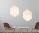 Le Klint 105A Small Lampshade Made in Denmark and Designed by Tove & Edvard Kindt-Larsen