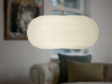 Le Klint  Donut Pendant Lampshade Made in Denmark and Designed by Lise Navne