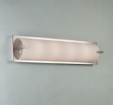 Illuminating Experiences ELF6 LED Satin Nickel Wall Light and Designed by Steven Blackman