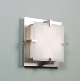 Illuminating Experiences ELF7 LED  Satin Nickel Wall/ Ceiling Light and Designed by Steven Blackman