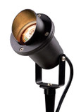 Directional Lights Black Aluminum Hooded with Yoke MR-16 Lamp 50W Max
