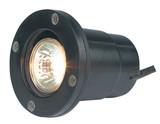Well Lights Aluminum Black Bi-Pin MR-16 Halogen 50W Max