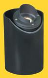 Well Lights Aluminum Fixture Black MR-16 Halogen 50W Max