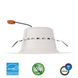"Euri Lighting DLC-2040e LED 5""-6"" Downlight Combo Retrofit Kit 13.5W 120V 4000K"