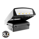 Euri Lighting Outdoor Wall Pack EWP-1053 Directional LED Retrofit Kit 70W 120-277V  5000K