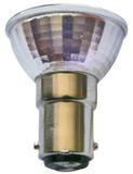 MR11 FSV Type w/ Glass Cover 20W BA15D Base