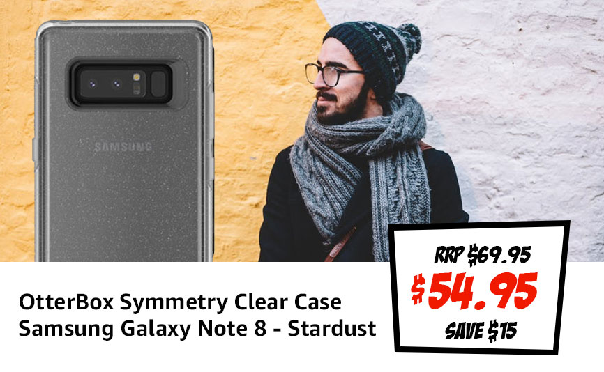 OtterBox Symmetry Clear Case Samsung Galaxy Note 8 - Stardust