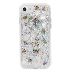 Case-Mate Karat Case iPhone 7/6/6S - Mother of Pearl