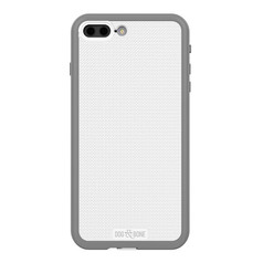 Dog & Bone Wetsuit Impact Waterproof Rugged Case iPhone 7+ Plus - White/Grey