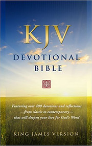 KJV Devotional Bible Black and Tan Flexisoft