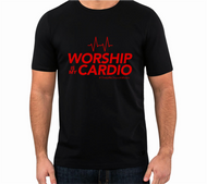 Worship is My Cardio Shirt (Red)