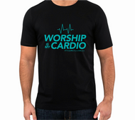 Worship is My Cardio Shirt (Teal)