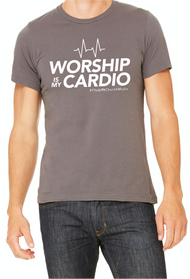 Worship is My Cardio Shirt (Gray)
