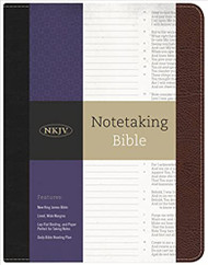 Note taking Bible (NKJV)