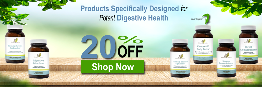 Blessed Herbs - Products Specifically Designed For Potent Digestive Health