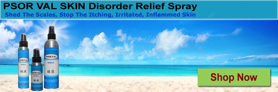Psor Val Skin Disorder Relief Spray