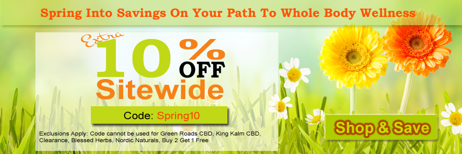 Save 10% Sitewide - Use Code Spring10