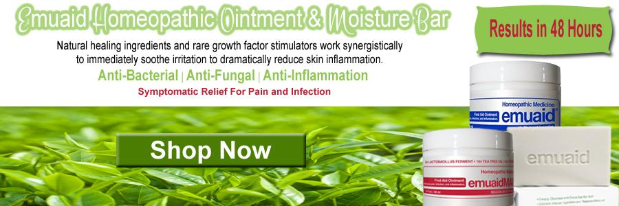 Emuaid Homeopathic Skin Ointment, Moisture Bar & Overnight Acne Treatment
