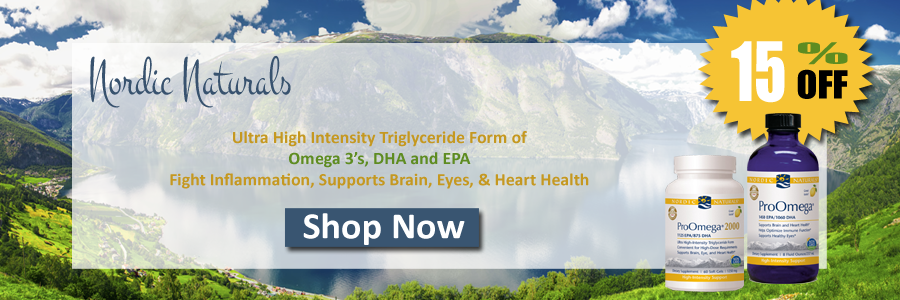 Nordic Naturals Ultra High Intensity Omega 3 Fish Oil Fights Inflammation, Supports Brain, Eyes, & Heart Health