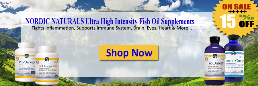 Nordic Naturals Ultra High Intensity Fish Oil Supplements Fights Inflammation, Supports Immune System, Brain, Eyes, Heart & More...