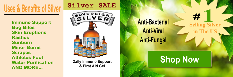 Sovereign Silver Hydrosol Immune Support & First Aid Gel On SALE!