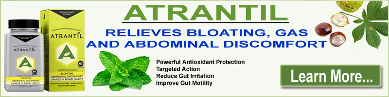 Atrantil - Relief from Bloating, Abdominal Discomfort and Promotes Overall Digestive Health