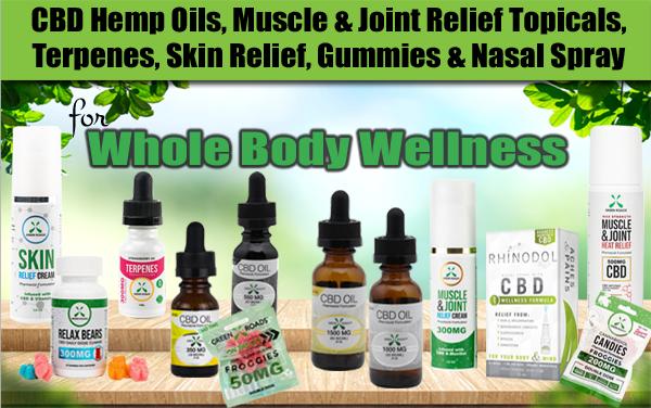 CBD Oils, Topicals, Edibles, Nasal Spray, Terpenes