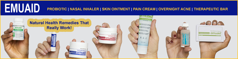 Emuaid Skin Ointment and Soap for over 100 Skin Disorders