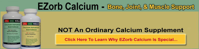 EZorb Calcium for Bone, Joint, & Muscle Health