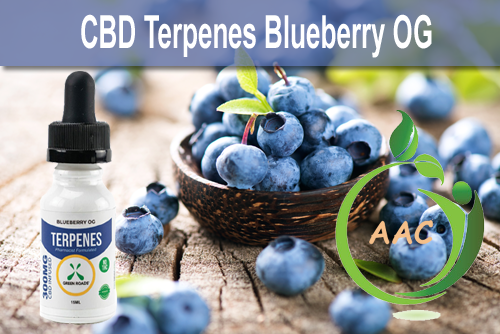 Green Roads World Blueberry CBD (cannabidiol) Terpenes For Whole Body Wellness