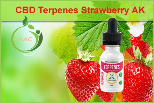 Green Roads World Strawberry Terpenes CBD Oil (cannabidiol) 300 mg.