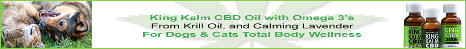 King Kalm CBD Oil from Industrial Hemp with Essential Fatty Acids from Krill Plus Lavender