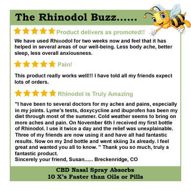What Others Are Saying About Rhinodol CBD Nasal Spray