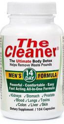 Century Systems The Cleaner Men's 14 Day Formula, The Ultimate Body Detox (104 Caps)