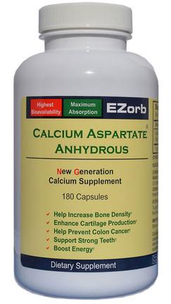 Elixir Industry EZorb Calcium  Aspartate Anhydrous (180 Caps)