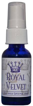 The Healthy Protocol Royal Velvet Deer Antler Liposomal Spray Lemon Flavored with Stevia (1fl oz/30ml)